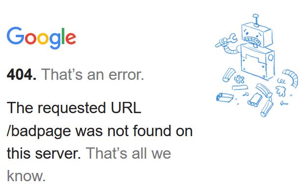 404 error wordpress