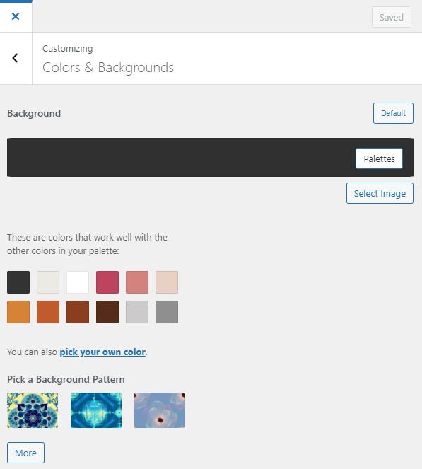 change background image wordpress admin