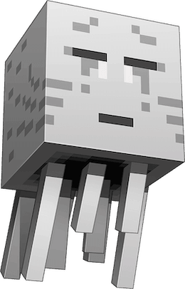 Minecraft Ghost Character