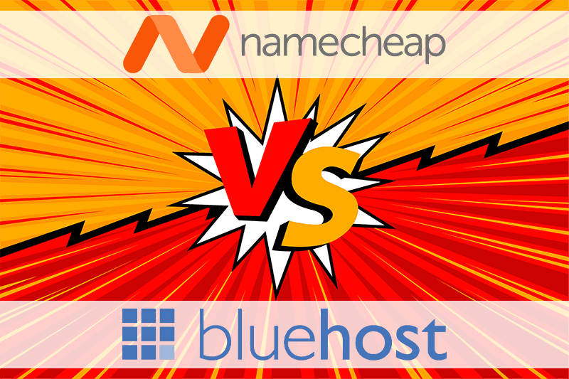 Namecheap vs Bluehost