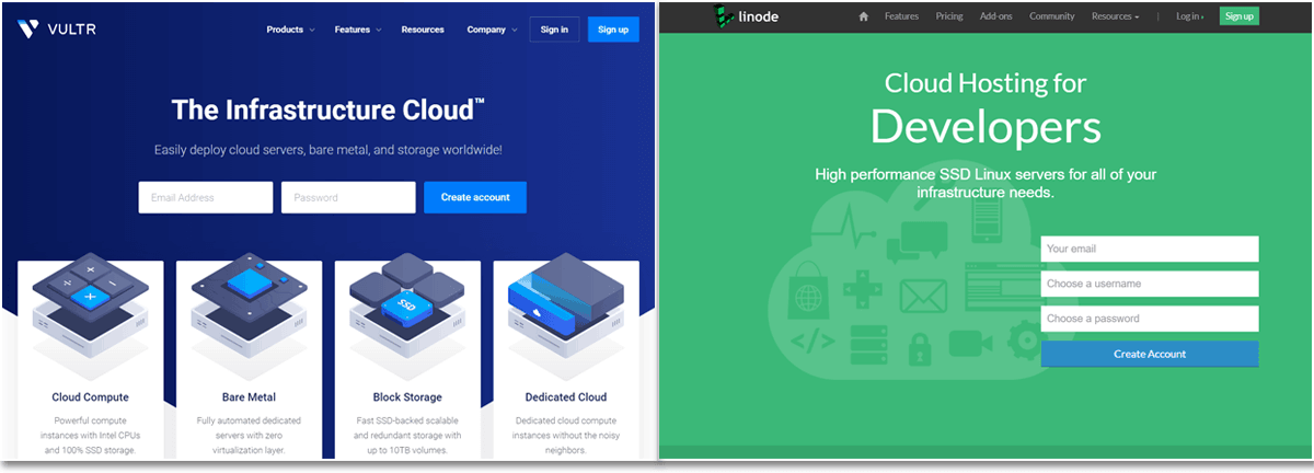 Vultr vs Linode Compared: Battle of the VPS Cloud Servers
