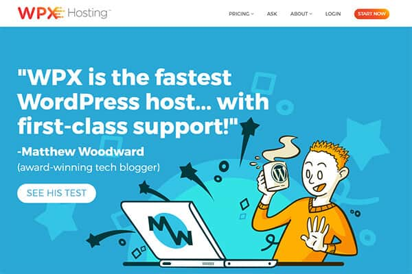 WPX Hosting WP Engine
